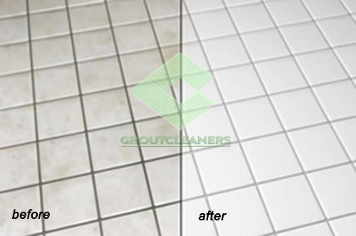 tile grout cleaning bathroom floor
